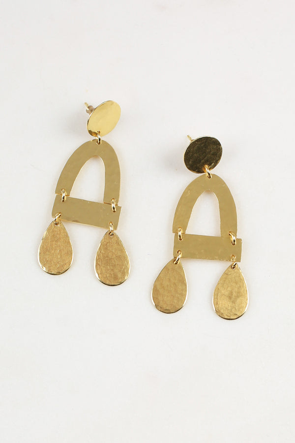 Imogen Earrings in Gold