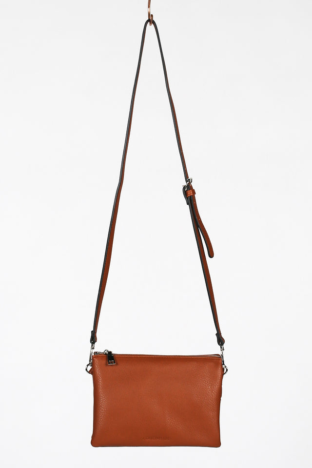 Josie Crossbody Bag in Tan