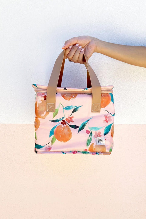 Lunch Bag in Orange Blossom