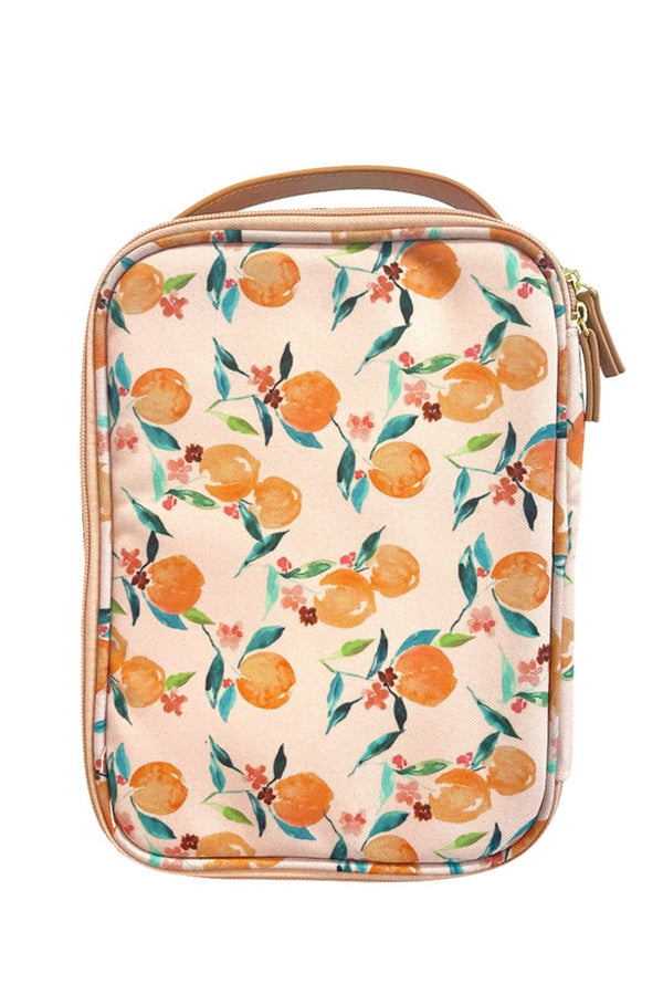 Lunch Case in Orange Blossom