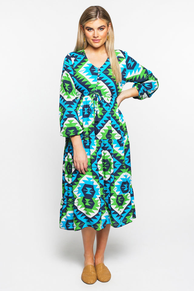 Primrose Maxi Dress in Waverly