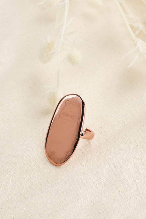 Skyler Ring in Coffee Gold