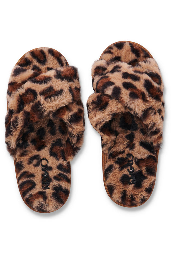 Slippers in Cheetah