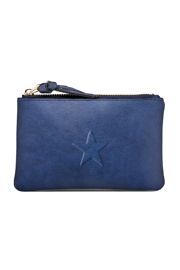 Star Purse in Steel Blue