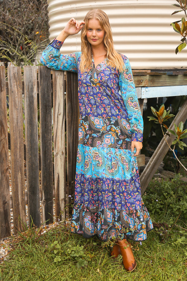 Stassi Maxi Dress in Sorrento