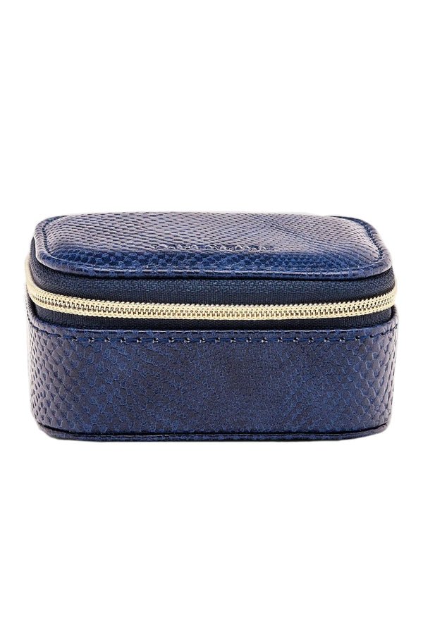 Suzie Lizard Jewellery Box in Denim
