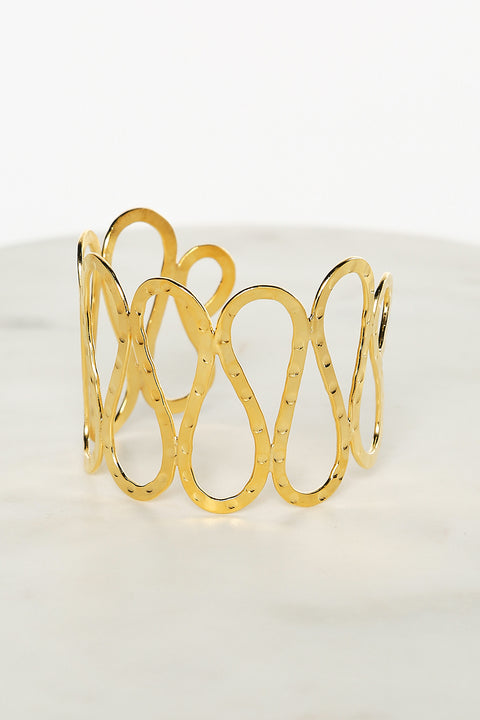Cleo Bangle in Gold