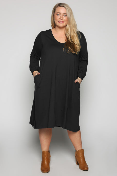 Winter Jodi Dress in Black