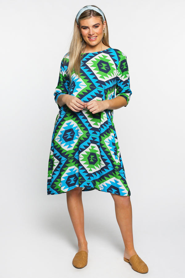 Zoe Dress in Waverly