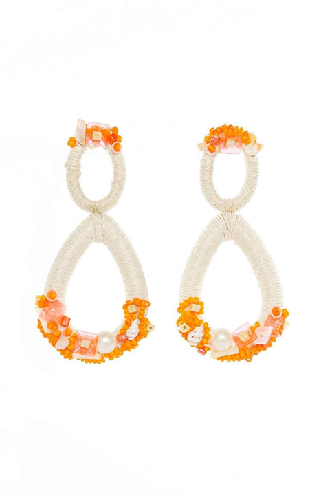 Adrift Clothing Earrings Orange / O/S Bree Earrings in Orange