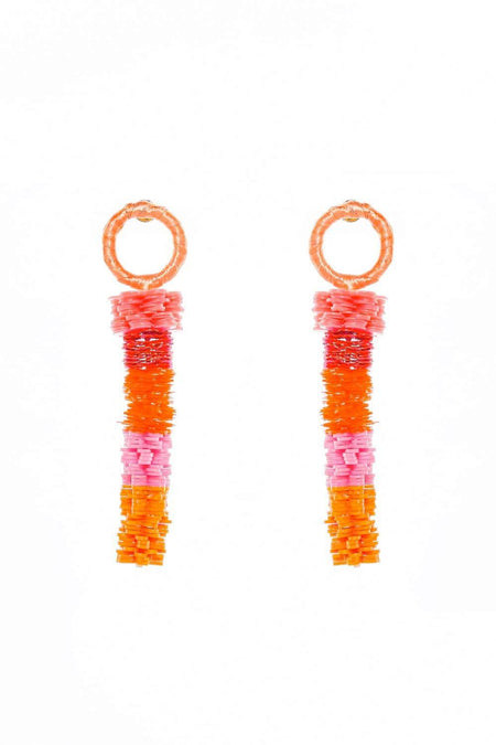 Adrift Clothing Earrings Pink / O/S Effie Earrings in Pink