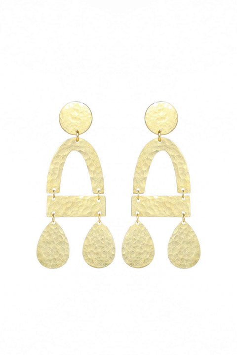 Adrift Clothing Earrings Gold / O/S Imogen Earrings in Gold