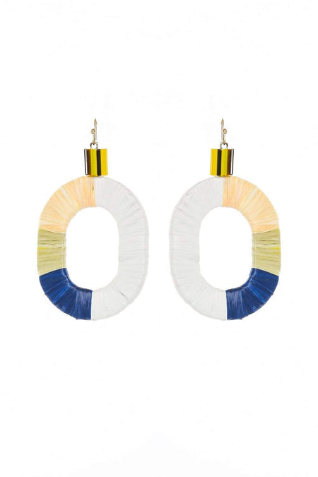 Adrift Clothing Earrings Multi / O/S Retro Earrings in Multi