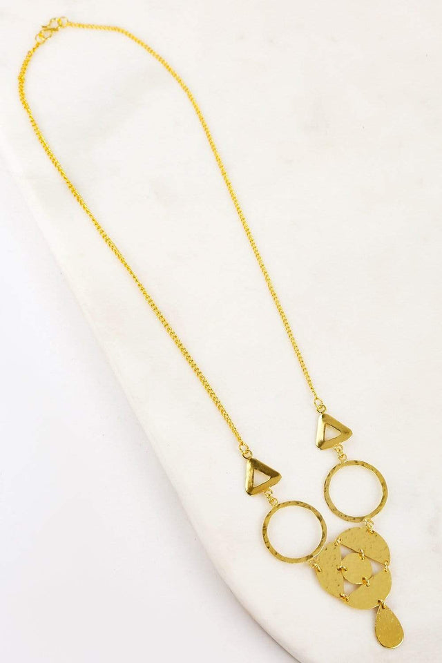 Adrift Clothing Necklace Gold / O/S Elise Necklace in Gold