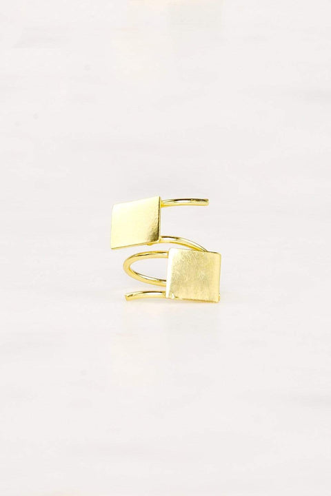 Adrift Clothing Ring Gold / O/S Eclectic Ring in Gold