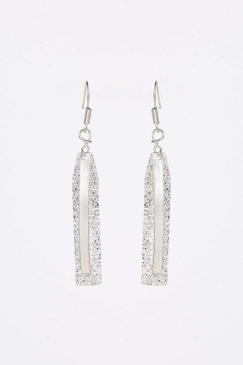 Adrift Manufactured - Rashimi Earrings Silver / O/S Drop Earrings in Silver