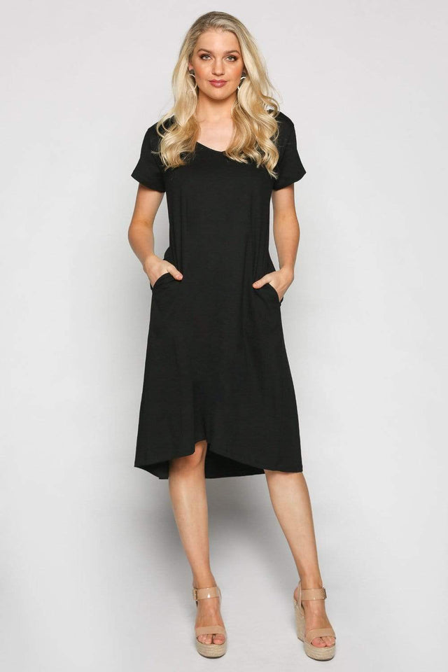 Basics By Adrift Dress A-line Dress in Black