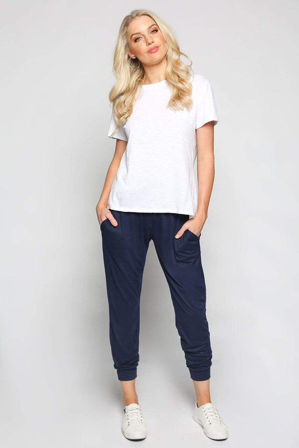 Basics By Adrift Pant Jogger Pant in Navy