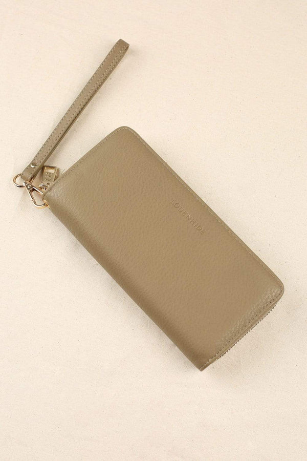 Louenhide Purse Khaki / O/S Jessica Wallet in Light Khaki