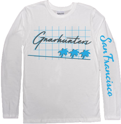 California long sleeve tee