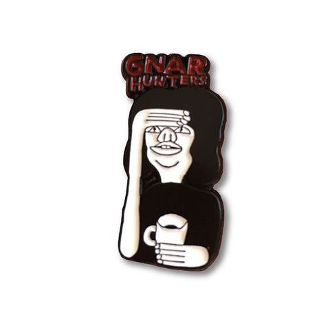 NAT RUSSELL for GNARHUNTERS pin