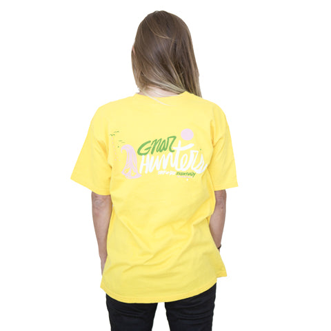 Thomas Campbell tee yellow