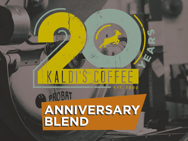 Throwback Coffee - Our 20th Anniversary Blend