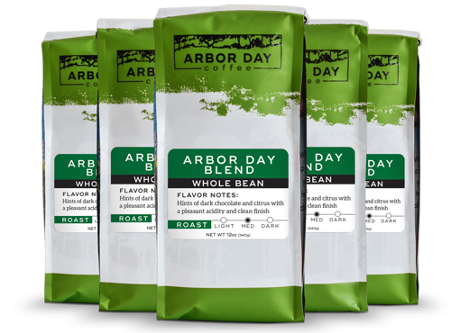 Arbor Day Coffee Bags