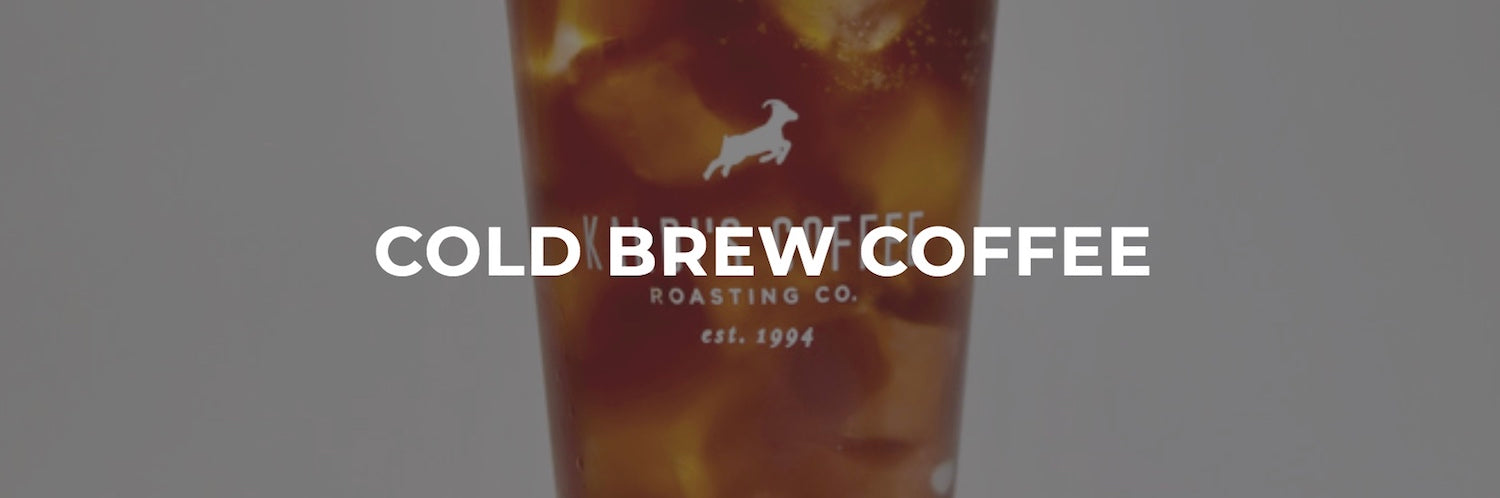 Cold Brew Coffee in a glass, leads to the Cold Brew: All You Want to Know page
