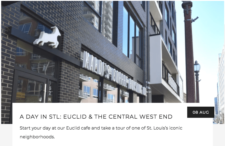 A Day in STL: Euclid & The Central West End