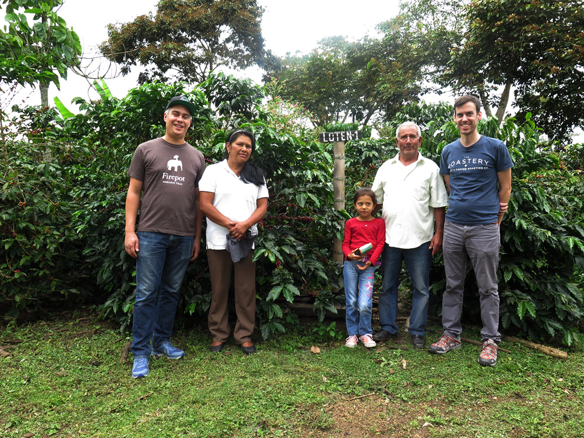 Kaldi's Team visiting our partners at Colombia Monserrate