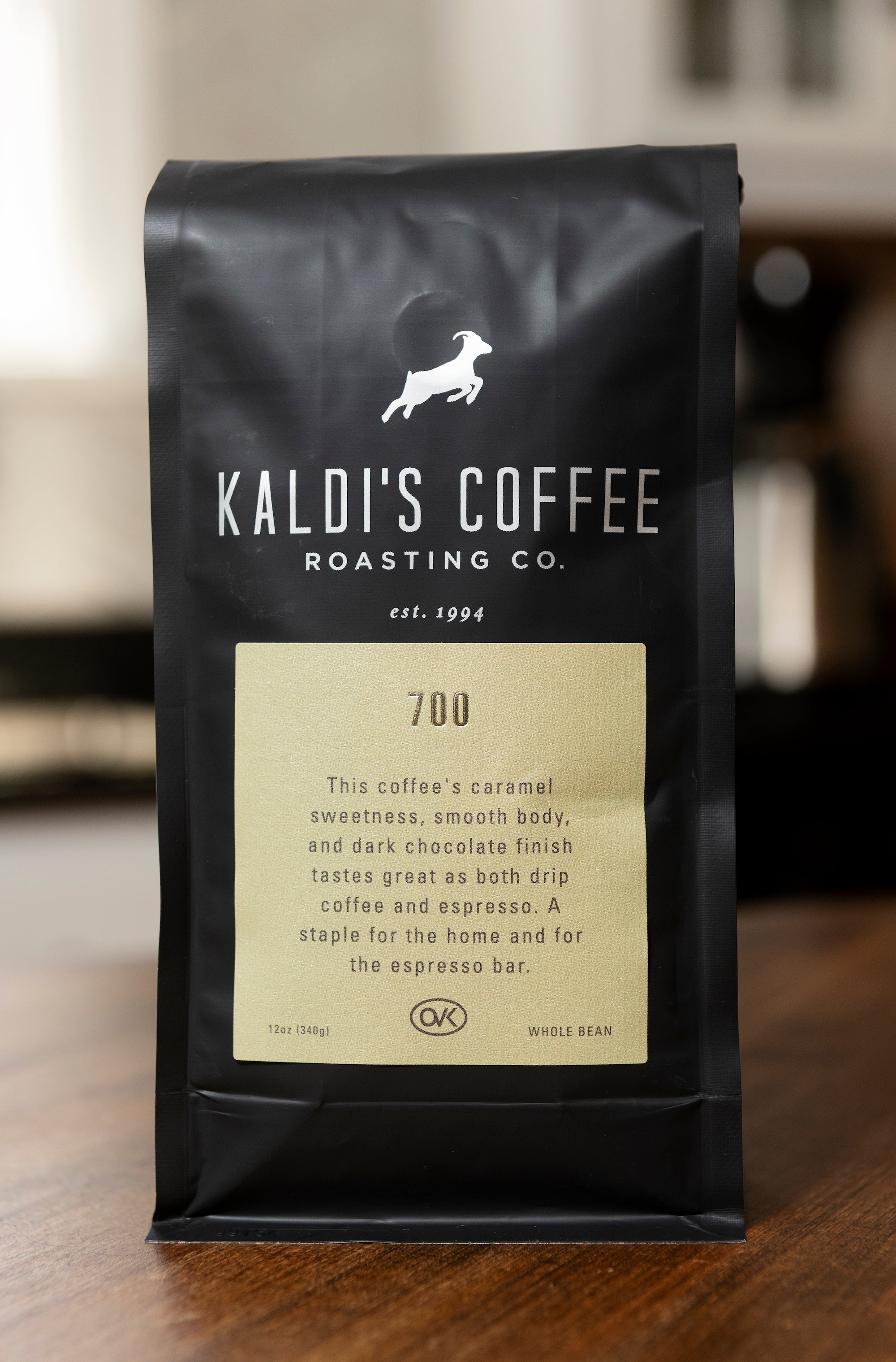 Bag of 700 Espresso Coffee Blend | Use with Kaldi's Coffee Cake Recipe!