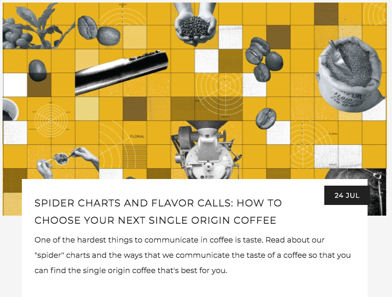 Spider Charts and Flavor Calls | Kaldi's Coffee Blog