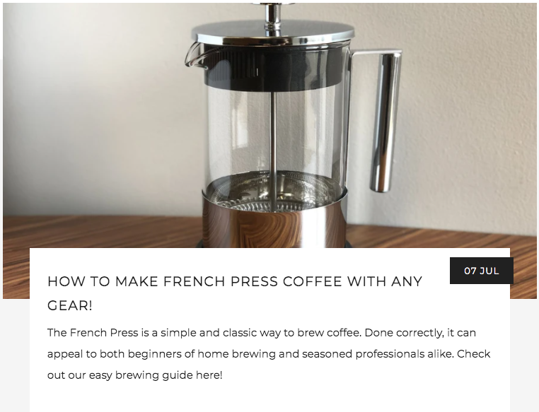 How to Brew French Press Coffee With Any Gear! | Kaldi's Coffee Blog