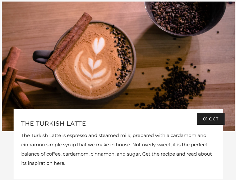 The Turkish Latte History and Recipe | Kaldi's coffee Blog