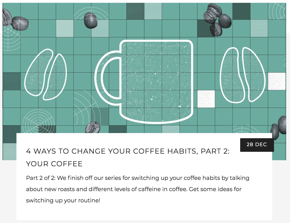 How To Change Your Coffee Habits Part 2 - Select a different coffee roast and weigh your beans | Kaldi's Coffee Blog