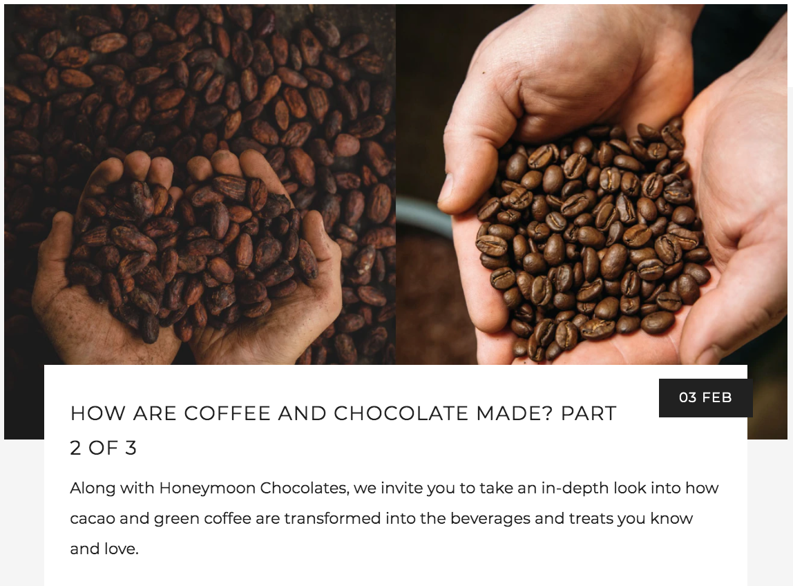 How are Specialty Coffee and Chocolate Made? | Kaldi's Coffee Blog