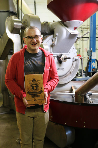 Tony Auger Wins Big Central Brewers Cup, South Central Region