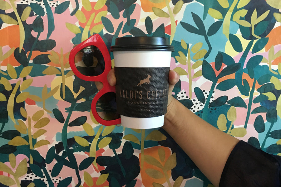 Kaldi's Coffee To Go Cup at our St. Louis Coffee Shop