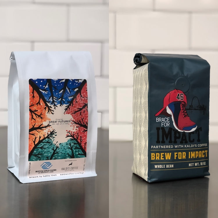 12 Days of Giving - Bag of Boys and Girls Club of Greater St. Louis and Brace for Impact Brew For Impact Blend