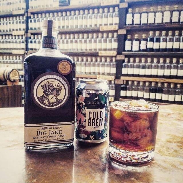 Big Jake's Breakfast Brew Whiskey from StilL 630 | Whiskey and Colombian Coffee from Kaldi's Coffee