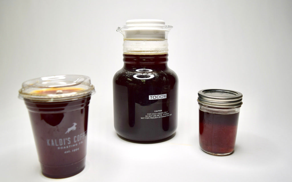Covering your cold brew