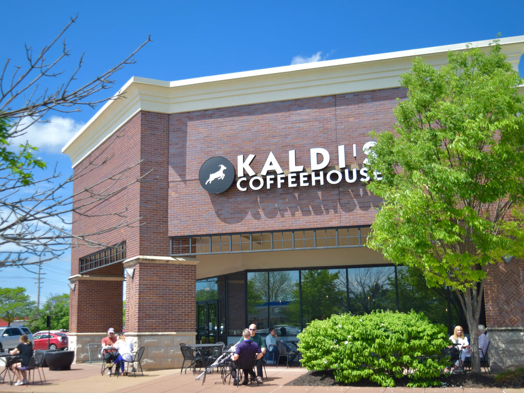 Exterior of Kaldi's in Chesterfield