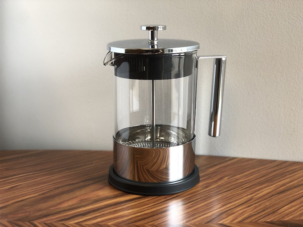 Yama French Press Brewer - Chrome Finish and A Great Way to Make French Press Coffee