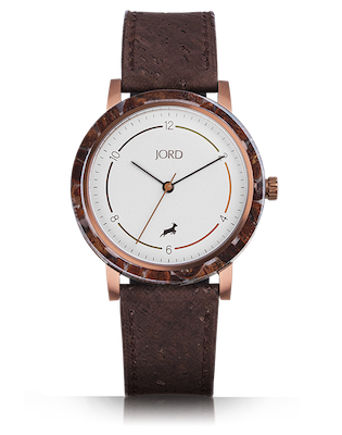 Jord Barista Coffee Watch | A Watch Made with Coffee!