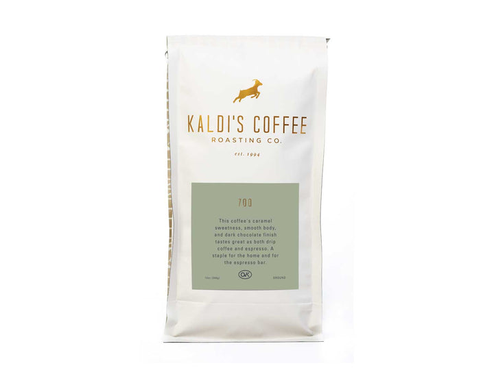12oz bag of 700, our espresso blend that's also perfect for drip coffee