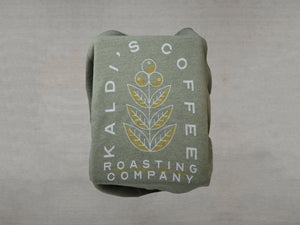 Green Coffee Plant Sweatshirt