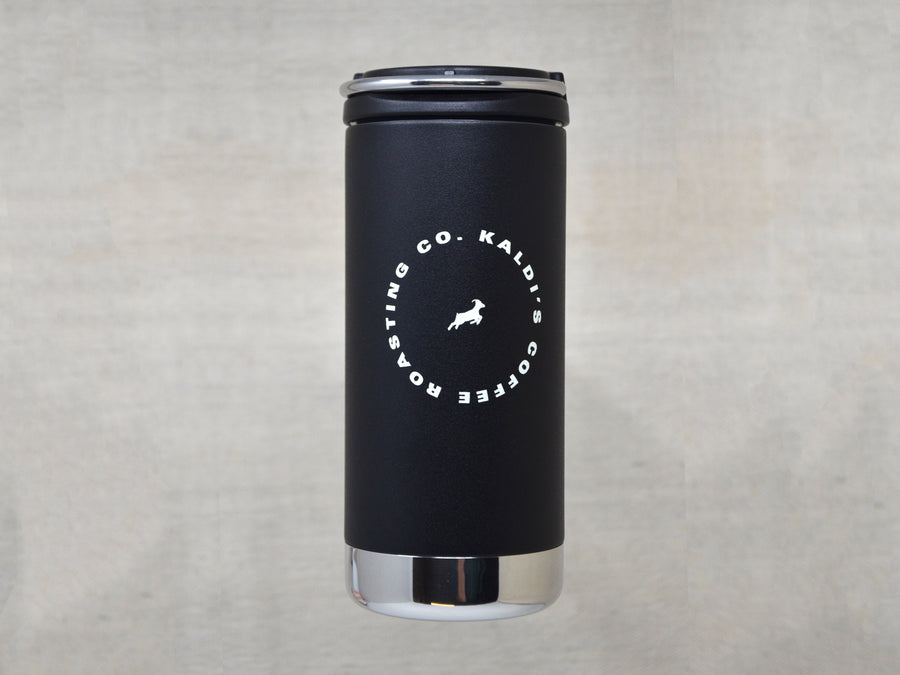 Klean Kanteen 12oz Coffee Tumbler with Kaldi's Logo