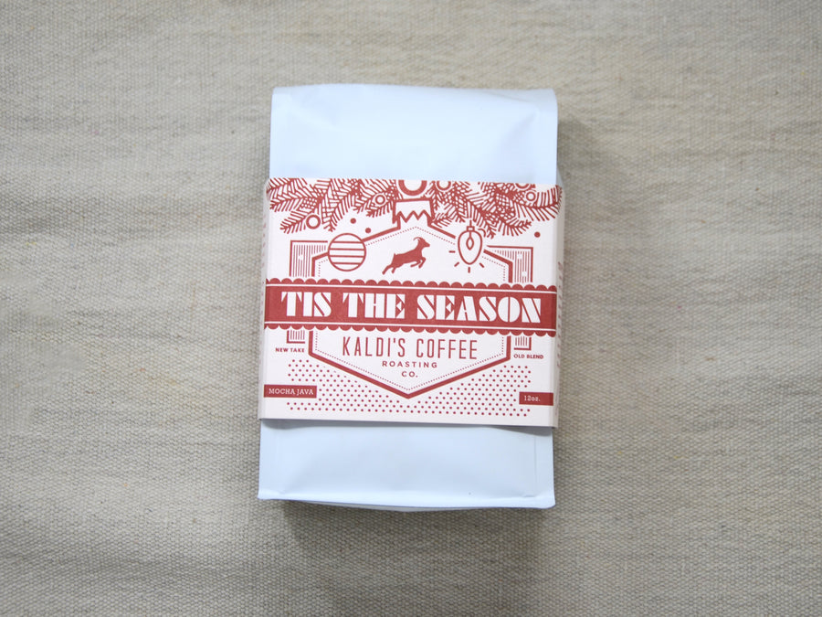 Tis the Season Holiday Coffee Blend - Ethiopia and Sumatra in a limited-edition package