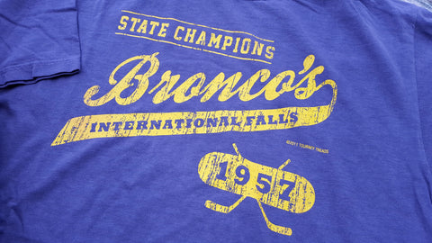1957 International Falls Broncos
